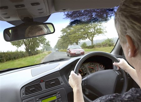 Driving In Britain Stock Photo - Premium Royalty-Free, Code: 621-01230733