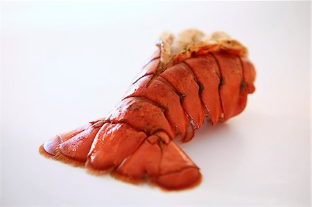 broiled lobster tail Stock Photo - Premium Royalty-Free, Code: 621-03596637