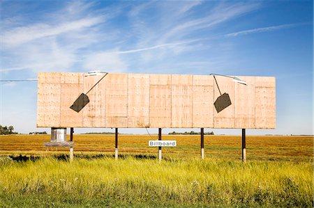 Empty billboard Stock Photo - Premium Royalty-Free, Code: 621-03597116