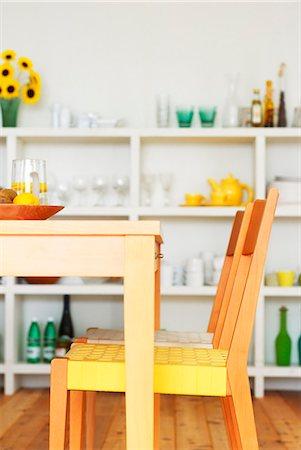 Dining Room Interior Stock Photo - Premium Royalty-Free, Code: 622-06009670