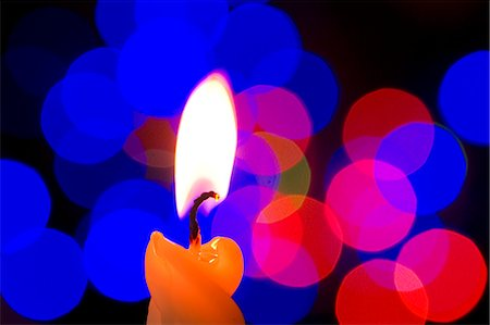 Candle Flame Stock Photo - Premium Royalty-Free, Code: 622-06010003