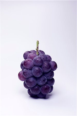 stem - Group Of Fresh Grapes Stock Photo - Premium Royalty-Free, Code: 622-06190779