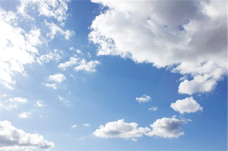 Clouds And Blue Sky Stock Photo - Premium Royalty-Free, Code: 622-06190785