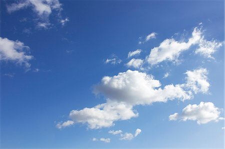 Clouds And Blue Sky Stock Photo - Premium Royalty-Free, Code: 622-06190786
