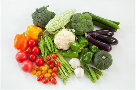 paprika - Group of vegetables Stock Photo - Premium Royalty-Free, Code: 622-06369931