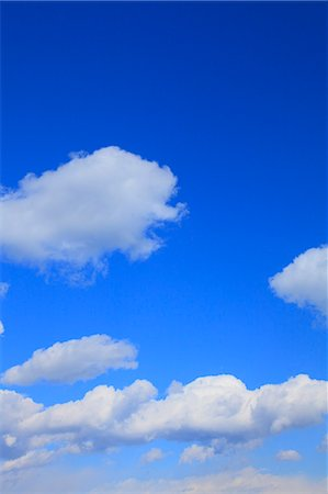 Blue sky and clouds Stock Photo - Premium Royalty-Free, Code: 622-06370473