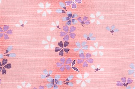 Cherry blossoms fabric Stock Photo - Premium Royalty-Free, Code: 622-06397987