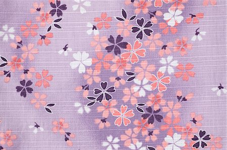 Cherry blossoms fabric Stock Photo - Premium Royalty-Free, Code: 622-06397988