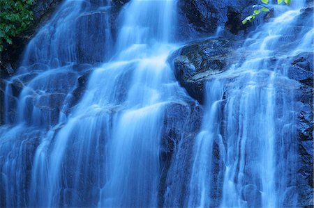 Waterfall in Yamagata Stock Photo - Premium Royalty-Free, Code: 622-06398096