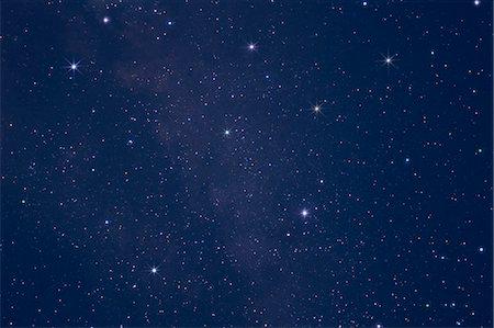 sky stars - Stars in the night sky Stock Photo - Premium Royalty-Free, Code: 622-06398402