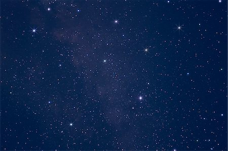 sky stars - Stars in the night sky Stock Photo - Premium Royalty-Free, Code: 622-06398402
