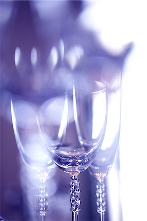 effect - Reflections on Champagne glasses Stock Photo - Premium Royalty-Free, Code: 622-06398559