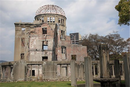 Hiroshima Peace Memorial Stock Photo - Premium Royalty-Free, Code: 622-06398585