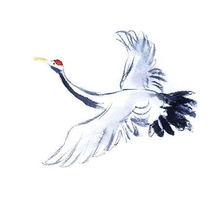 Crane illustration Stock Photo - Premium Royalty-Free, Code: 622-06487850