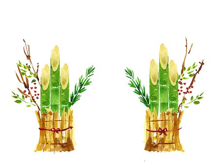 right - New Year decoration Stock Photo - Premium Royalty-Free, Code: 622-06487869
