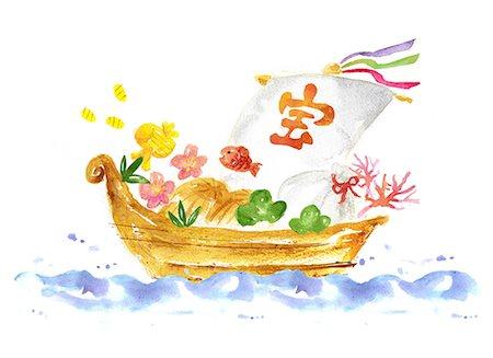 Ship illustration Stock Photo - Premium Royalty-Free, Code: 622-06487870