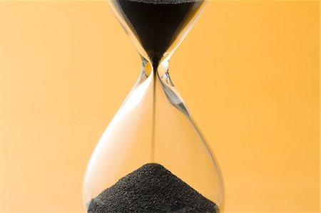 sand clock - Hourglass Stock Photo - Premium Royalty-Free, Code: 622-06548847
