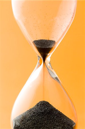 sand clock - Hourglass Stock Photo - Premium Royalty-Free, Code: 622-06548848