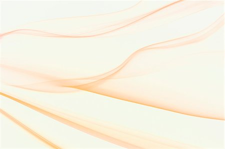 swirl - Orange smoke on white background Stock Photo - Premium Royalty-Free, Code: 622-06548891