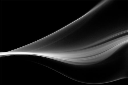 swirl - Grey smoke on black background Stock Photo - Premium Royalty-Free, Code: 622-06548911