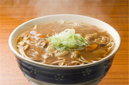 Japanese style Soba buckwheat noodles Stock Photo - Premium Royalty-Free, Code: 622-06548971