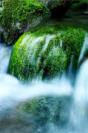 stream - Mountain stream Stock Photo - Premium Royalty-Free, Code: 622-06549327