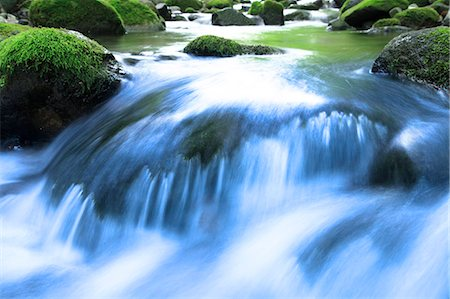 flowing - Mountain stream Stock Photo - Premium Royalty-Free, Code: 622-06549320