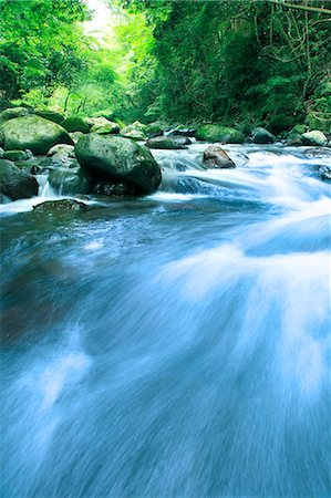 streams scenic nobody - Water stream Stock Photo - Premium Royalty-Free, Code: 622-06549342