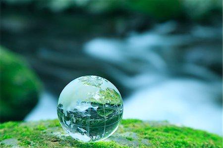 Glass globe Stock Photo - Premium Royalty-Free, Code: 622-06549359