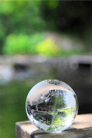 Glass globe Stock Photo - Premium Royalty-Free, Code: 622-06549386