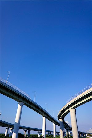solid - Highway interchange Stock Photo - Premium Royalty-Free, Code: 622-06549442