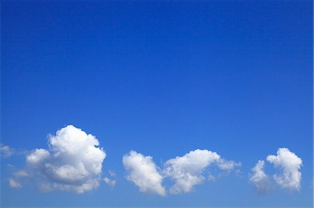 Blue sky and clouds Stock Photo - Premium Royalty-Free, Code: 622-06809791