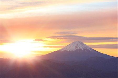fantastically - Mount Fuji Stock Photo - Premium Royalty-Free, Code: 622-07519986