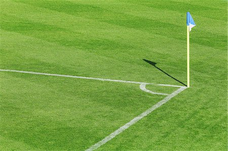Soccer field Stock Photo - Premium Royalty-Free, Code: 622-07736049