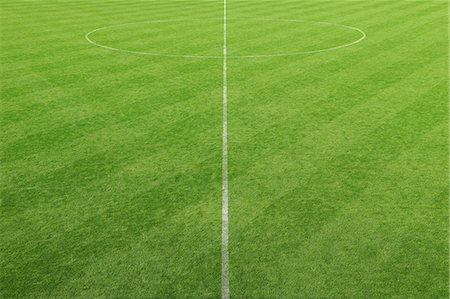 Soccer field Stock Photo - Premium Royalty-Free, Code: 622-07736050