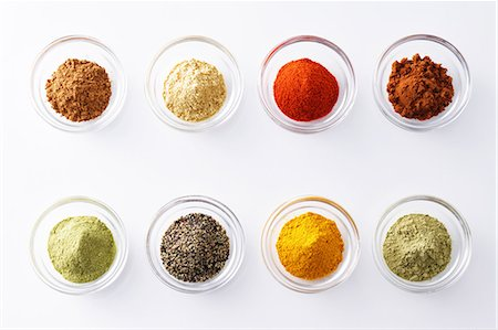 Assorted spices Stock Photo - Premium Royalty-Free, Code: 622-08007185