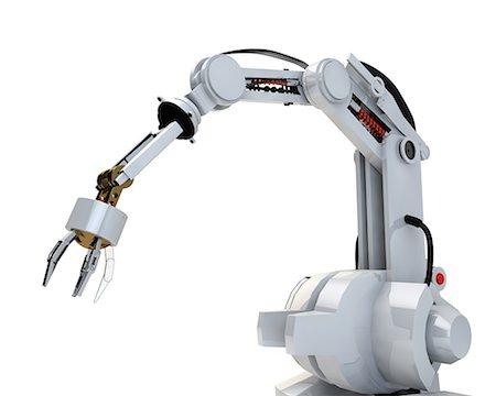 CG robot arm Stock Photo - Premium Royalty-Free, Code: 622-08122821