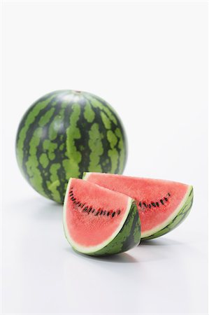 seasonal - Watermelon Stock Photo - Premium Royalty-Free, Code: 622-08139033