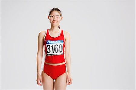 female - Japanese female athlete Stock Photo - Premium Royalty-Free, Code: 622-08355791