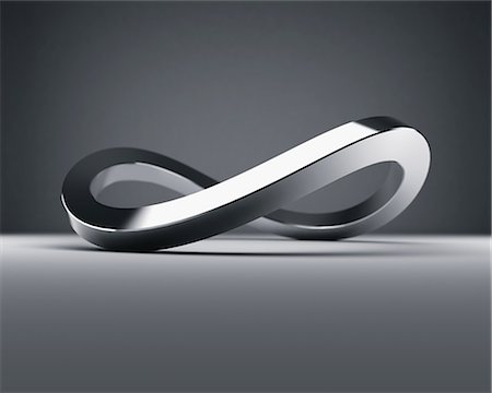 solid - Mobius Strip Stock Photo - Premium Royalty-Free, Code: 622-08657629