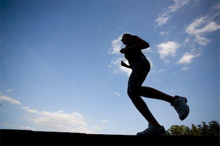Teenage Jogger Stock Photo - Premium Royalty-Free, Code: 622-02621582