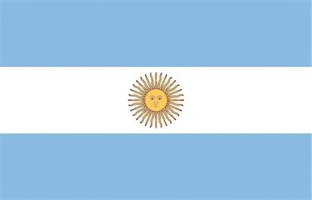 Argentina National Flag Stock Photo - Premium Royalty-Free, Code: 622-03446422