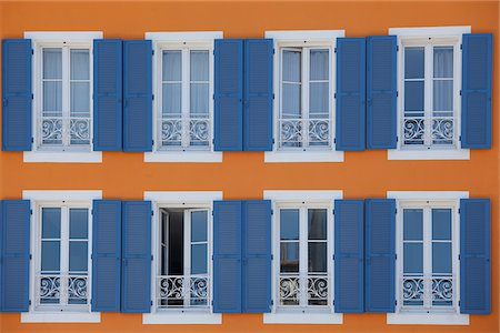 renting - Shutters and windows on ornate building Stock Photo - Premium Royalty-Free, Code: 635-05550467