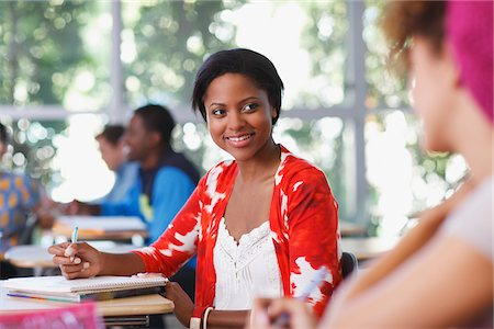 Students at work in classroom Stock Photo - Premium Royalty-Free, Code: 635-05971443