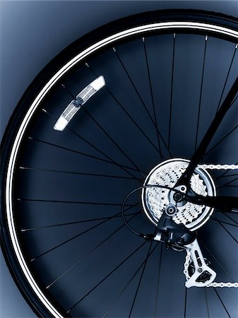 Close up of bicycle tire Stock Photo - Premium Royalty-Free, Code: 635-05972689