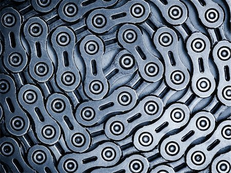 Close up of bicycle chain Stock Photo - Premium Royalty-Free, Code: 635-05972682