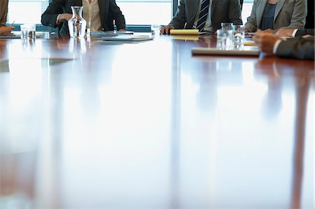 Business people meeting at table in conference room Stock Photo - Premium Royalty-Free, Code: 635-06045086