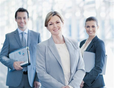 Portrait of smiling business people Stock Photo - Premium Royalty-Free, Code: 635-06045581