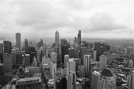 Chicago cityscape Stock Photo - Premium Royalty-Free, Code: 635-06192281