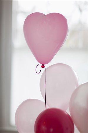 decoration - Heart-shape balloon Stock Photo - Premium Royalty-Free, Code: 635-07364928